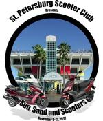 2012 Sun Sand and Scooters by the St. Petersburg Scooter Club